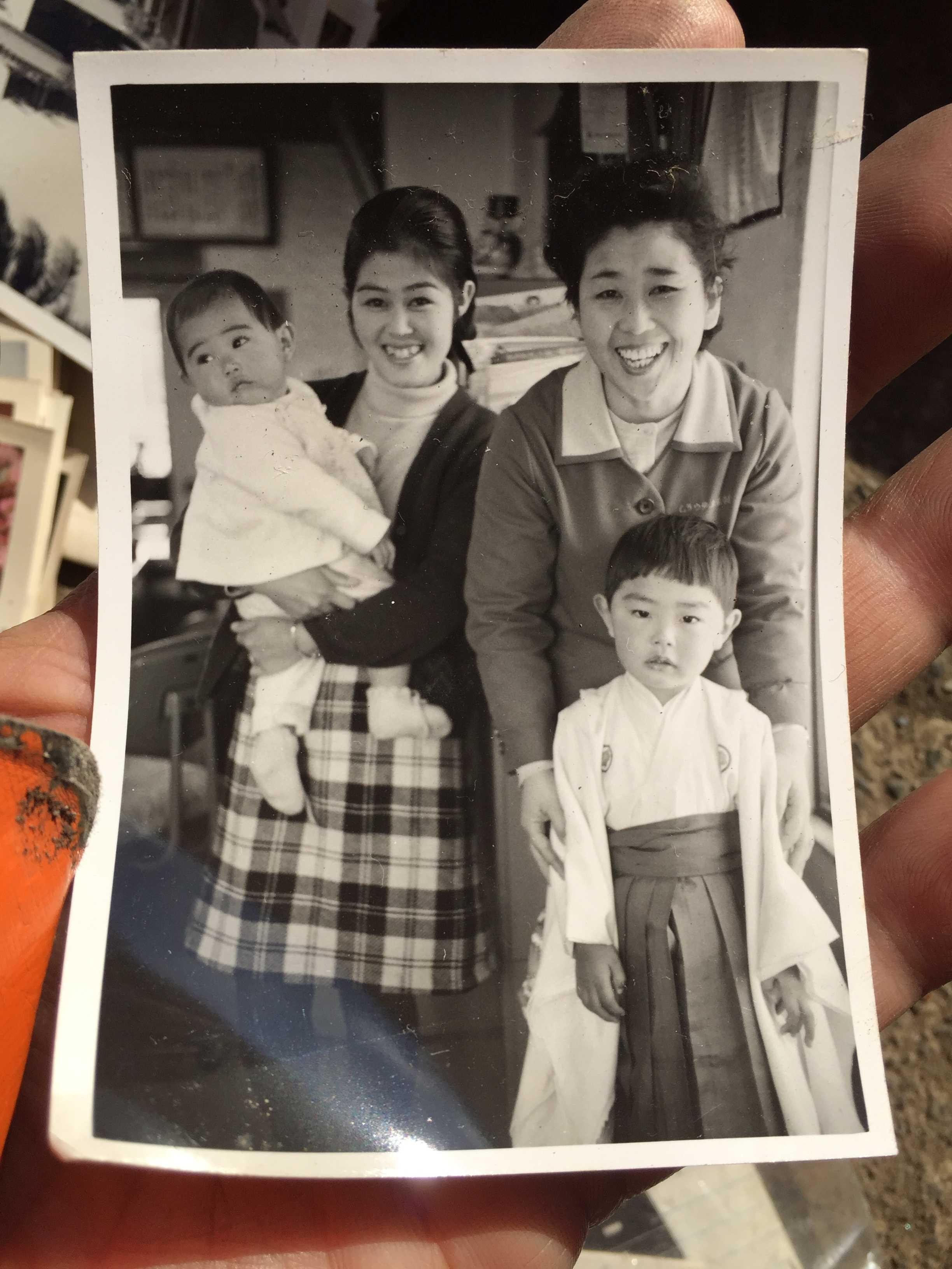 村内伸弘 - 昭和45年(1970年) 11月15日、七五三