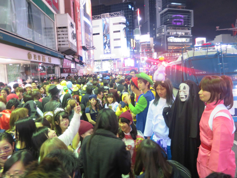 渋谷ハロウィーン - 深夜0時