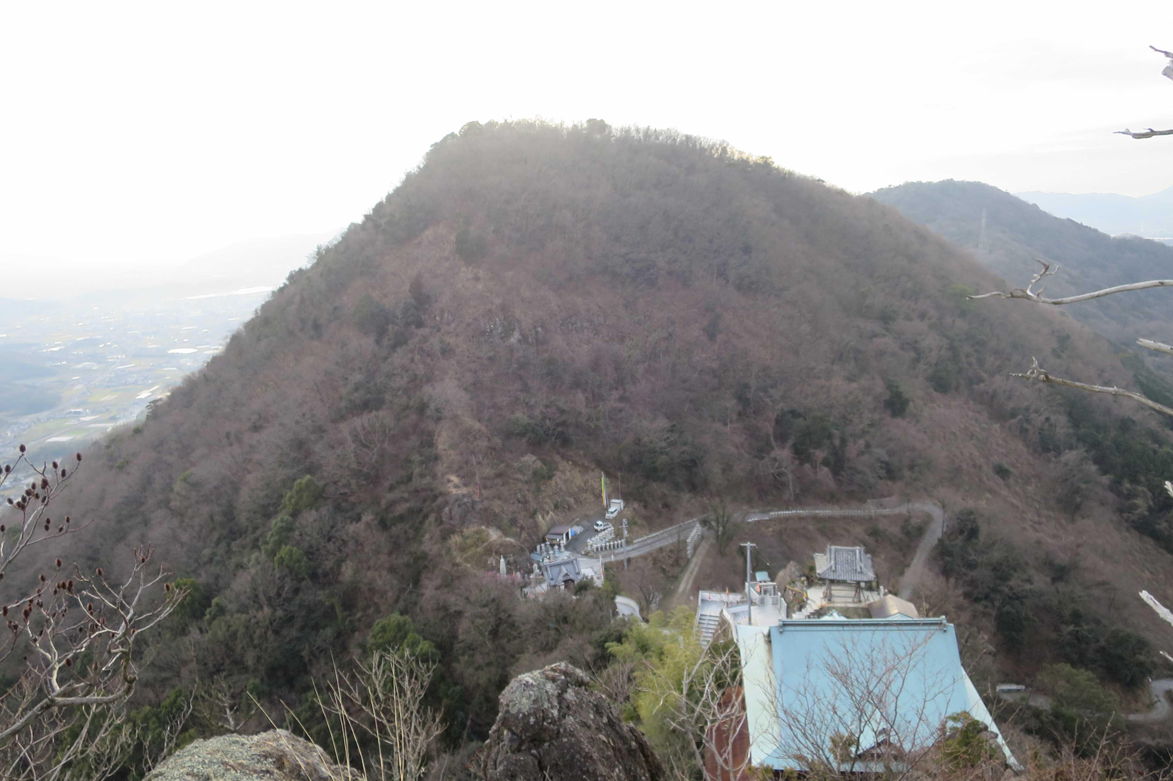 断崖絶壁 - 奥の院捨身ヶ嶽禅定