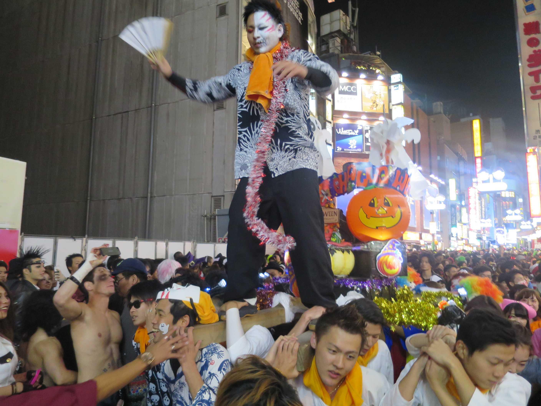 渋谷ハロウィーン - 日本の神になった古代ケルトの亡霊「ジャック・オ・ランタン」