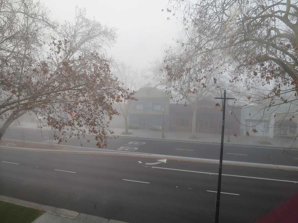 霧のサンノゼ