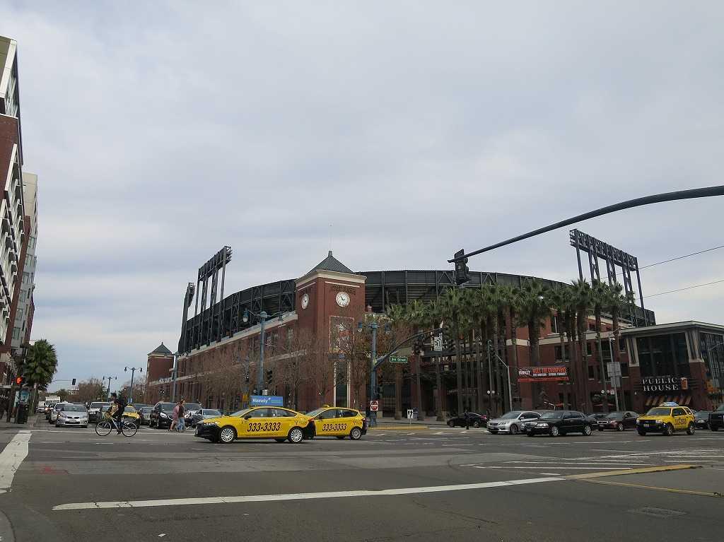 サンフランシスコ・ジャイアンツの本拠地・AT&Tパーク