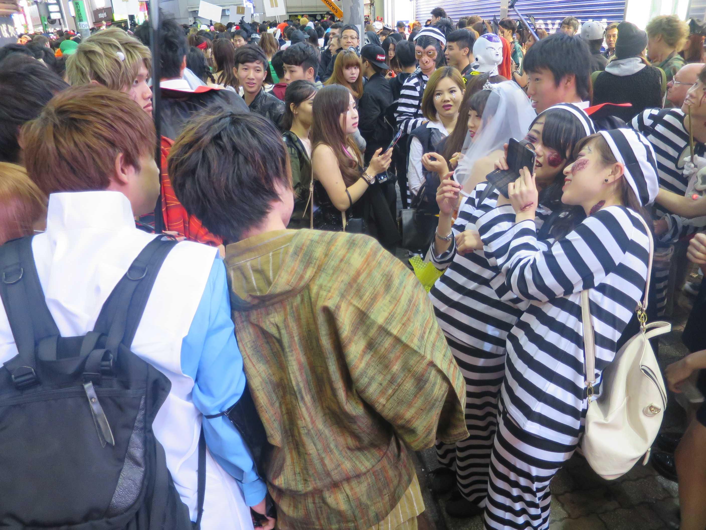 渋谷ハロウィン - 女囚人