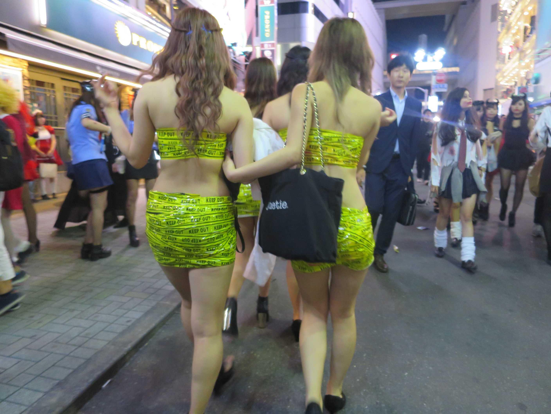 渋谷ハロウィン - KEEP OUTガールズ