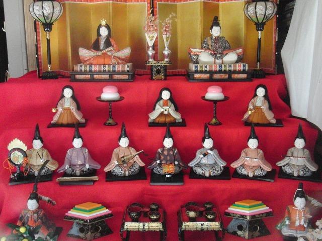 鞆の浦(とものうら)の雛飾り
