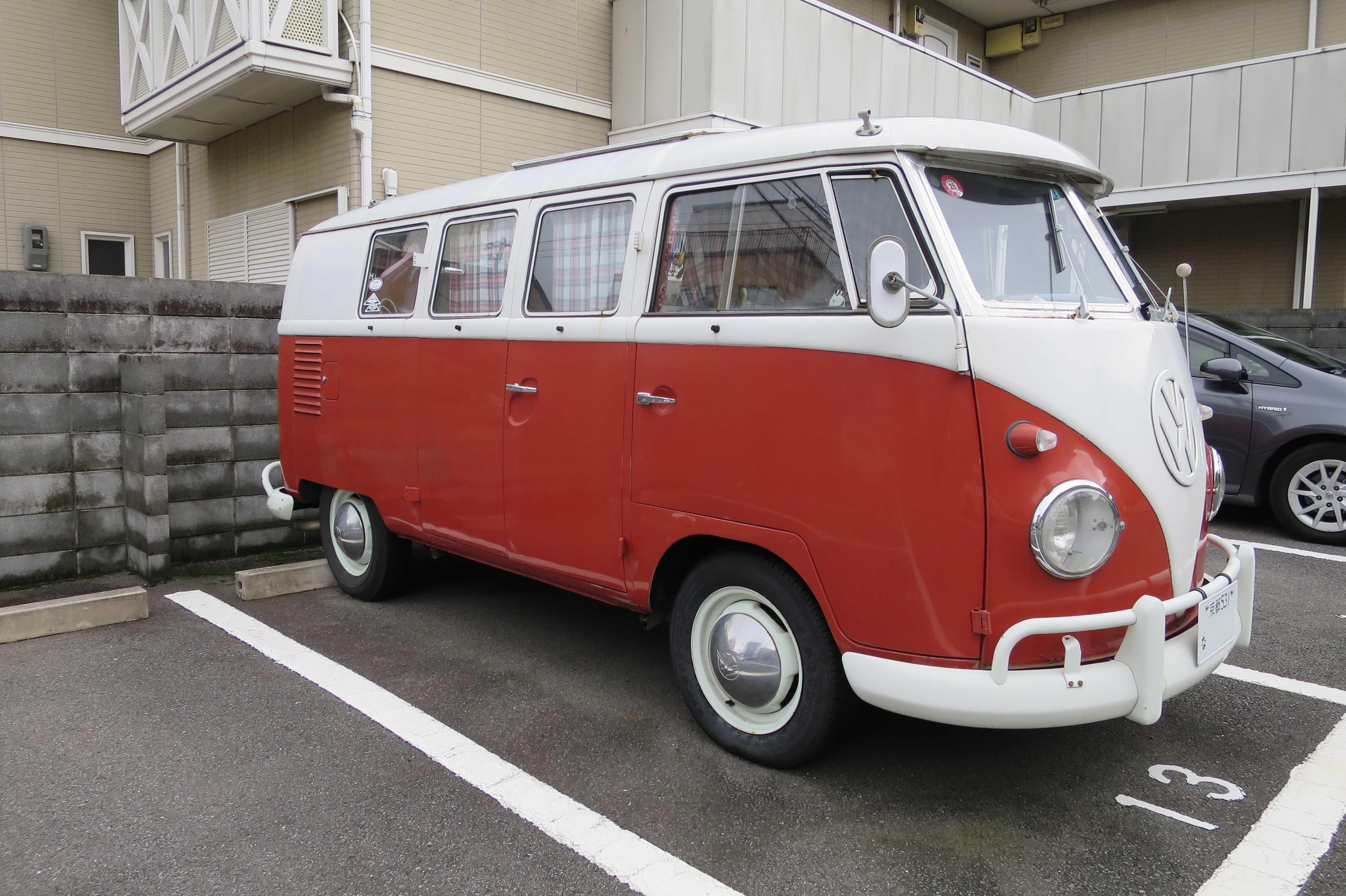 VW(フォルクスワーゲン)のワーゲンバス