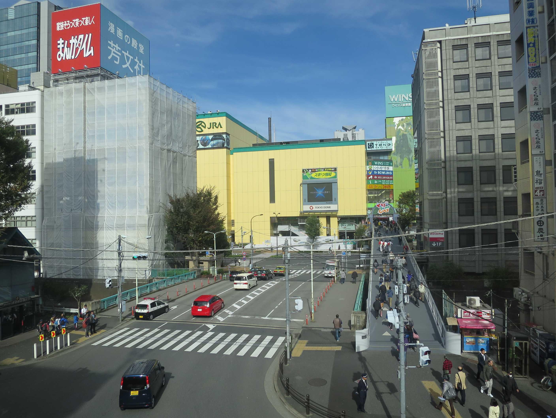 後楽園の黄色いビル