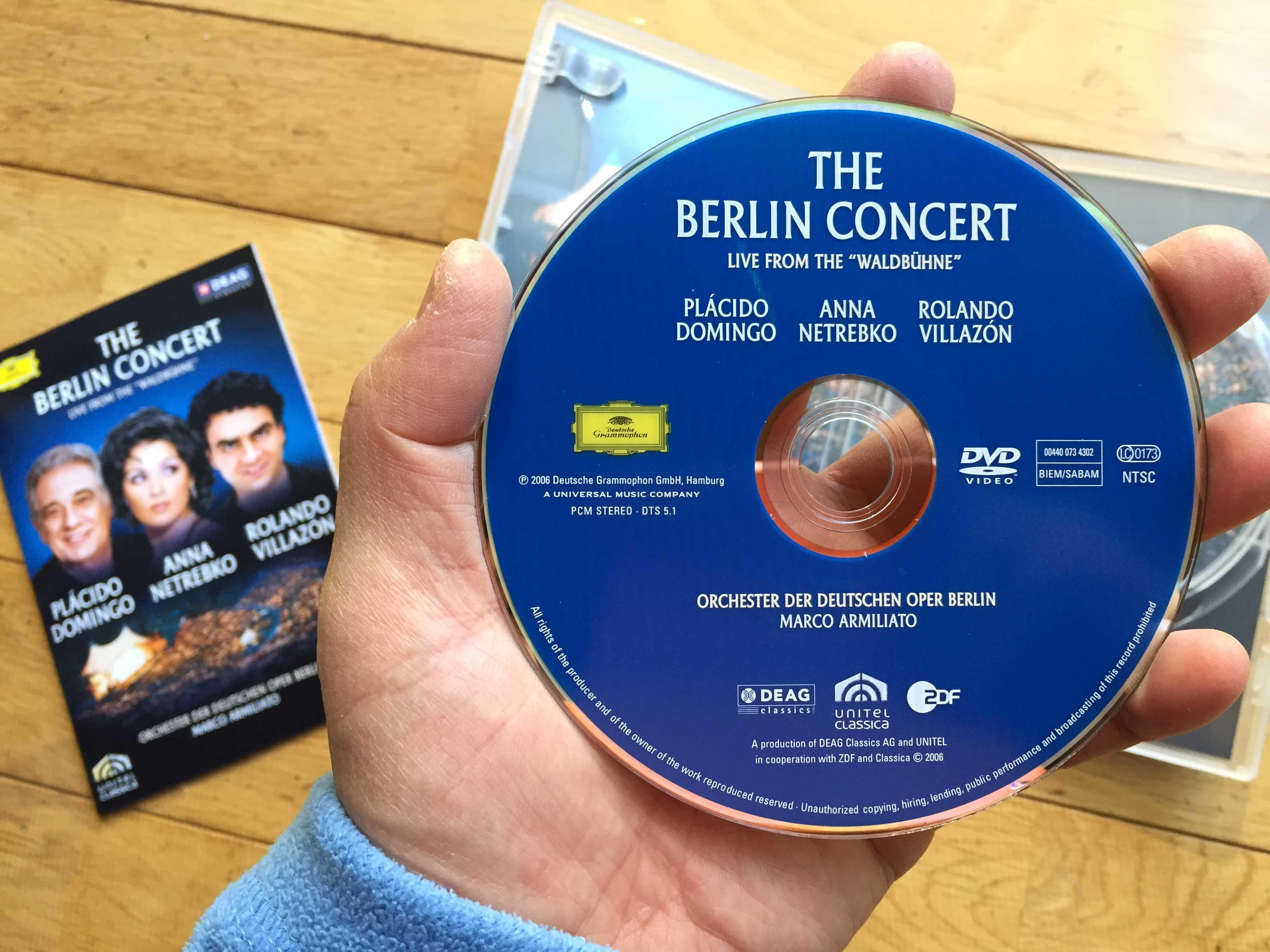 THE BERLIN CONCERT: LIVE FROM THE