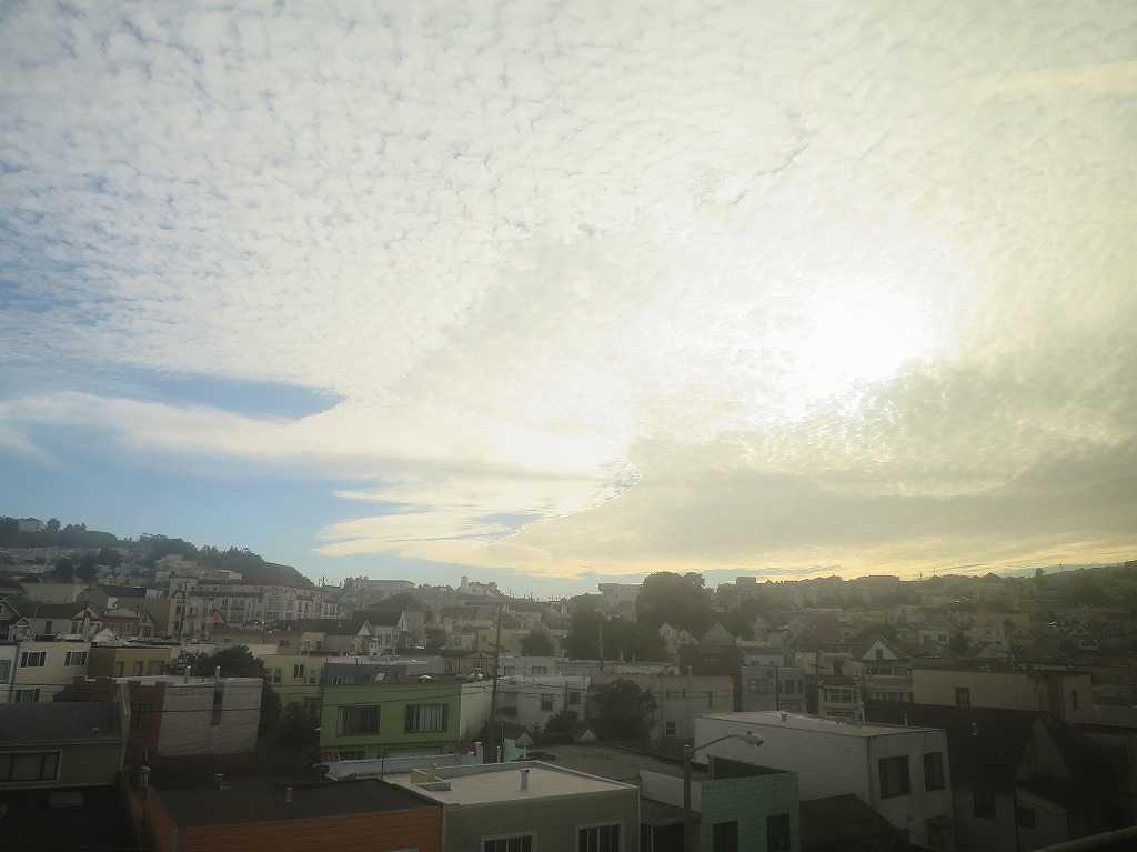 サンフランシスコ - 光と雲の競演