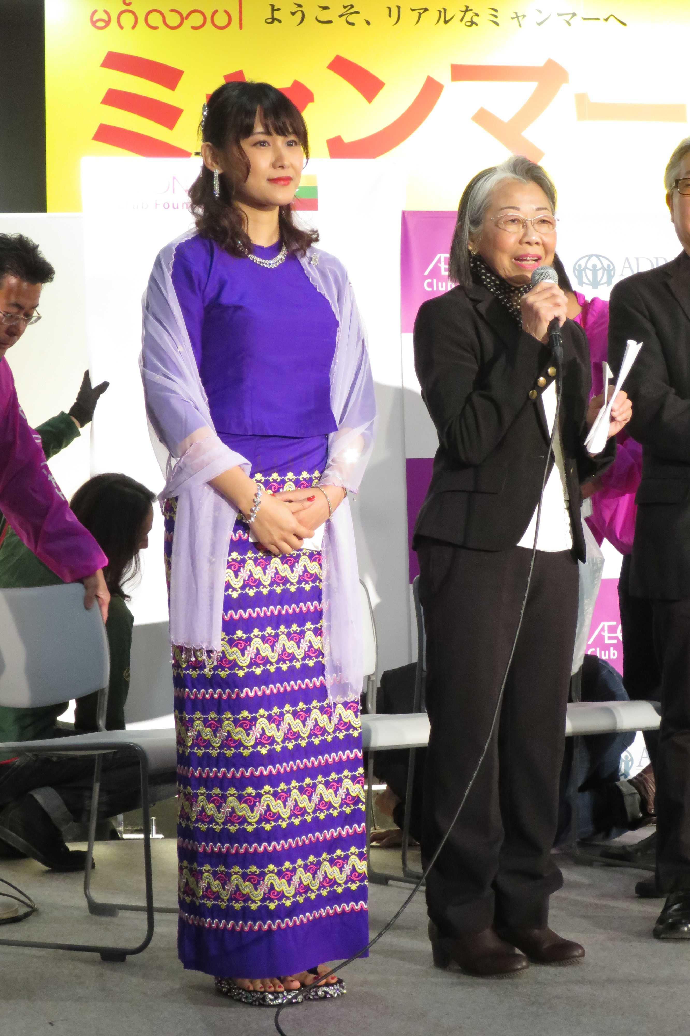 ミャンマー美女 - ミャンマー祭り2016