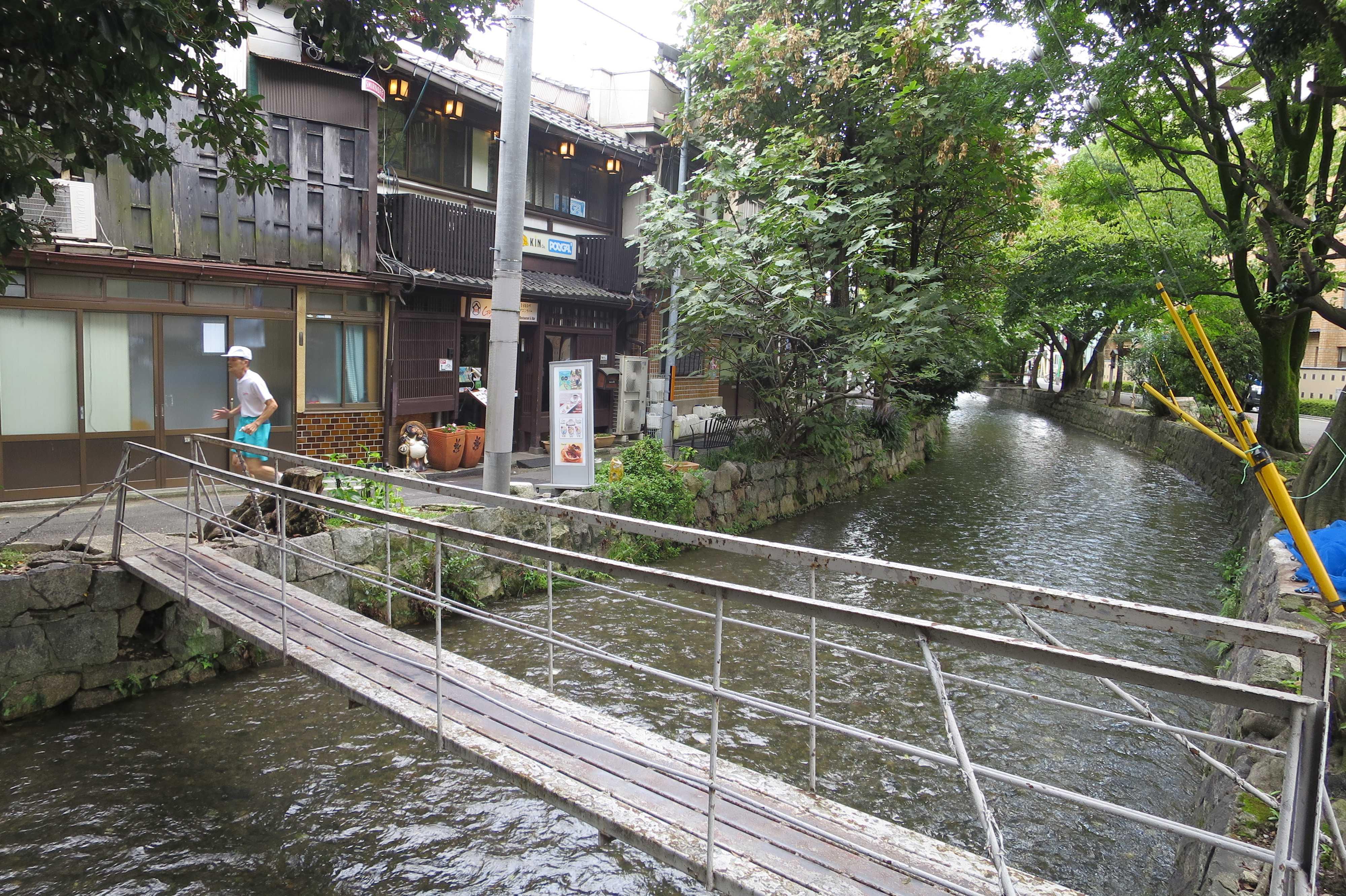 京都・五条楽園 - 優雅で、風情があって、京都らしい景色(高瀬川)