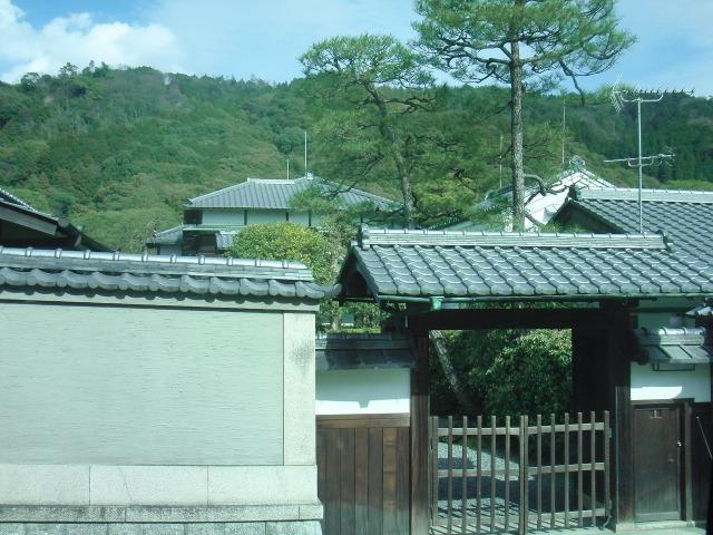 京都 - バスの車窓