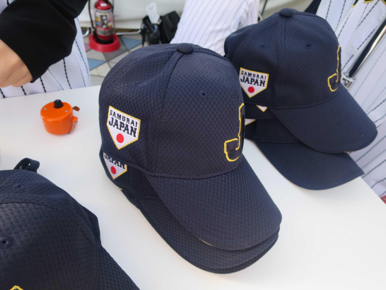 侍ジャパンの帽子