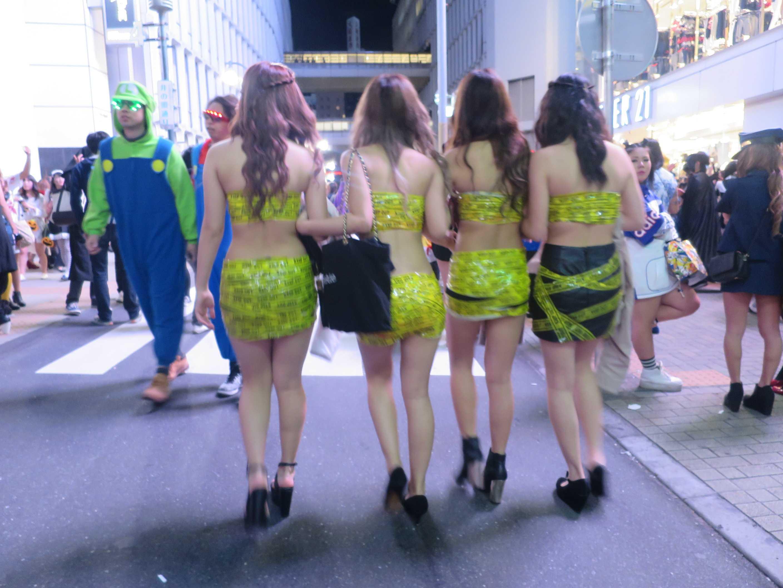 渋谷ハロウィン - セクシーガールズを盗撮&激写