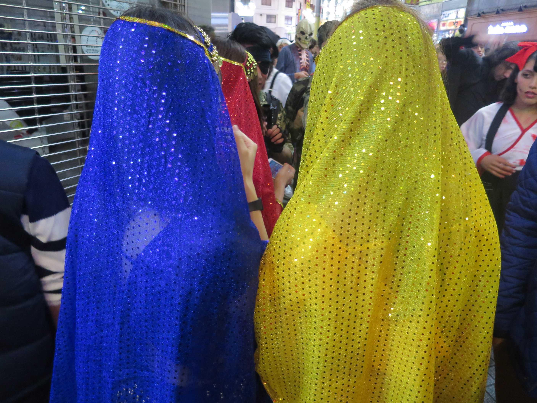 渋谷ハロウィーン - アラブの女性