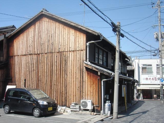 鞆の古い建物