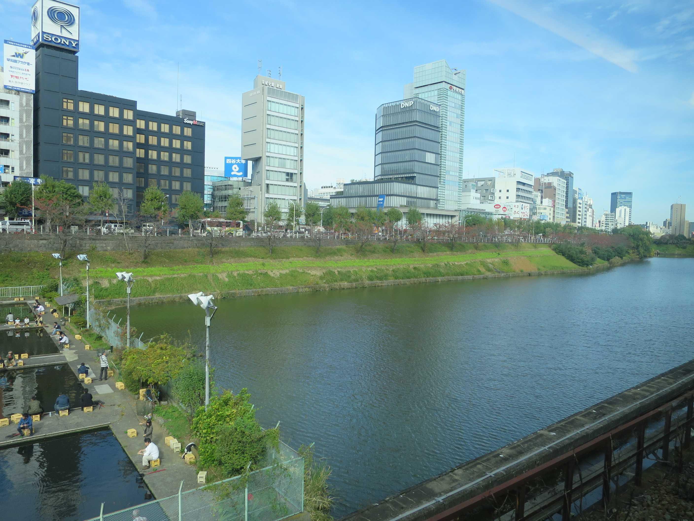 JR水道橋駅へ