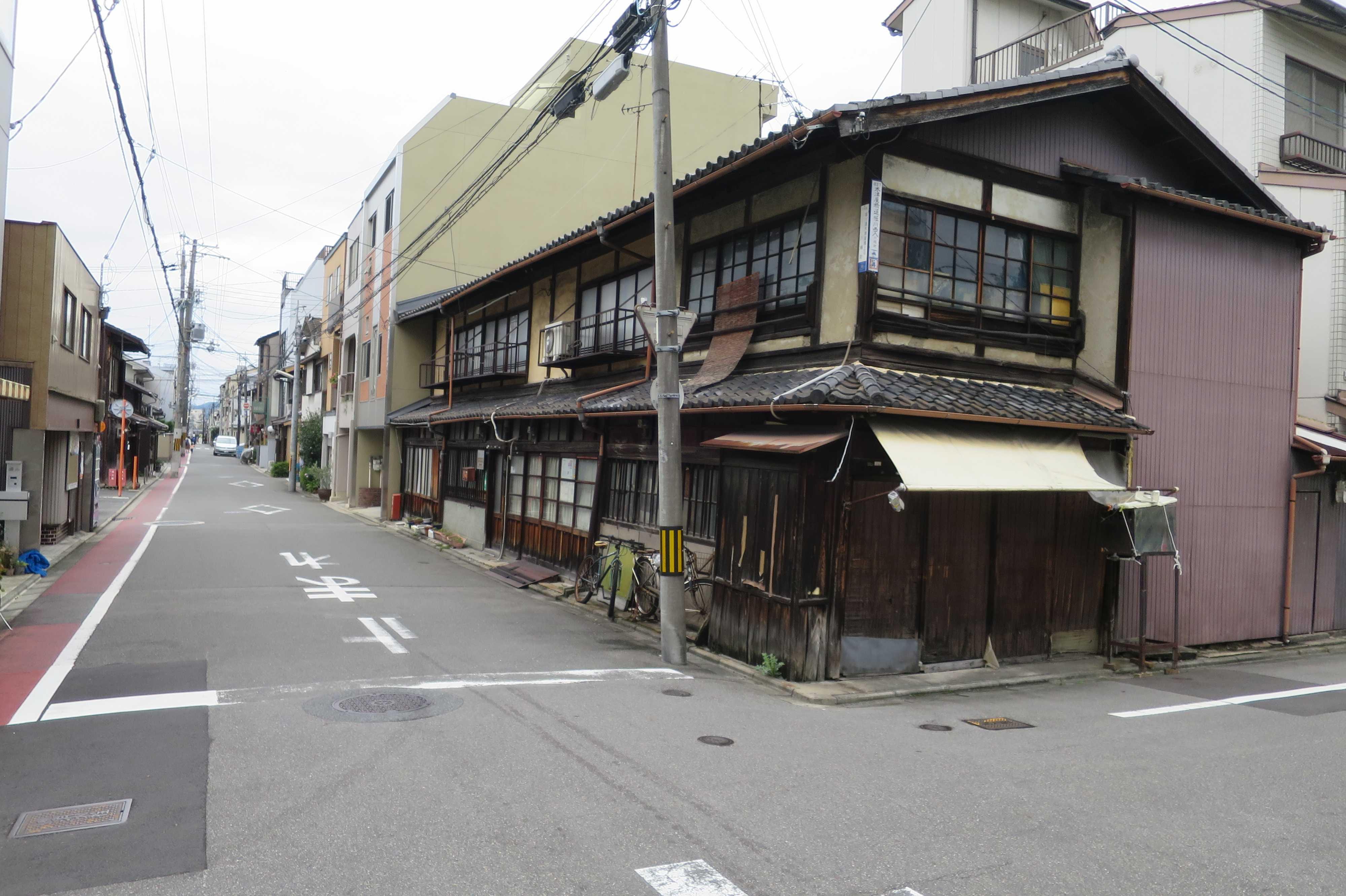 現存している京町家 - 京都市下京区
