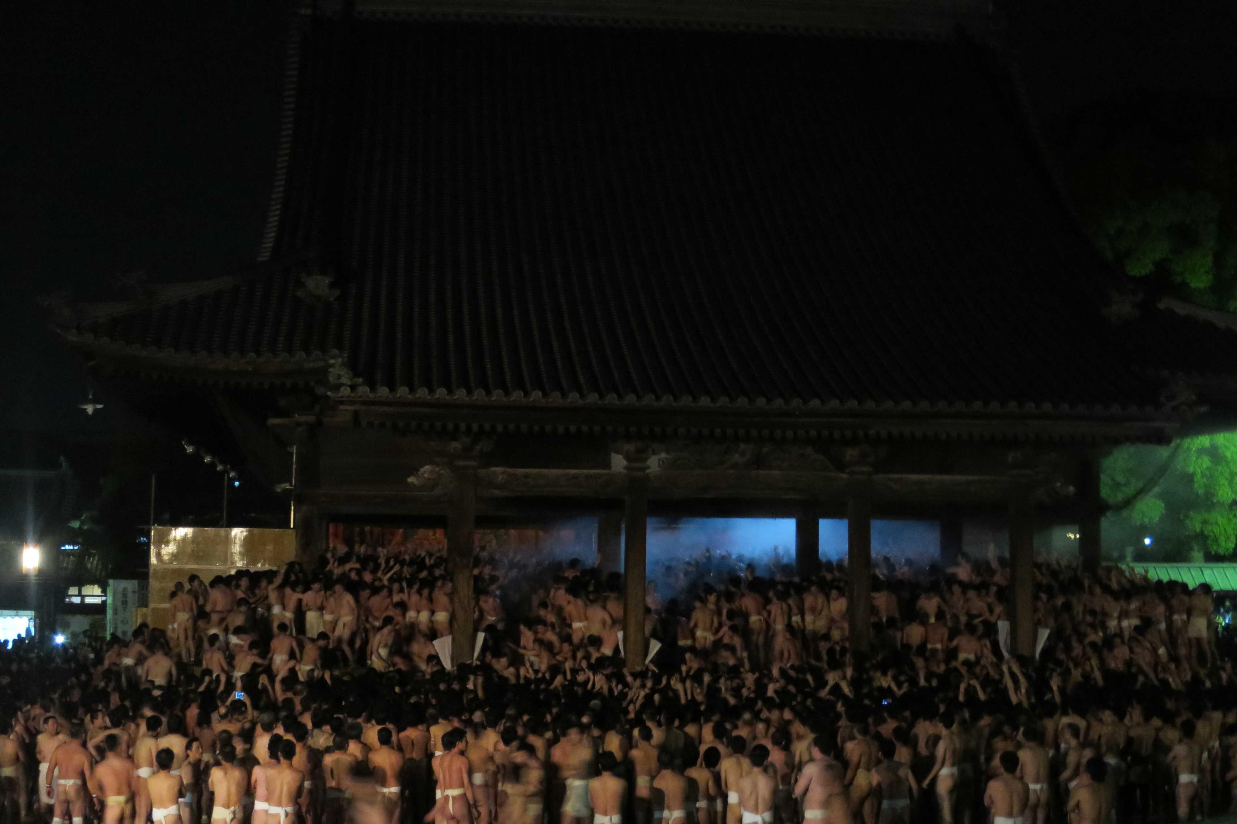 西大寺会陽 - 宝木争奪戦