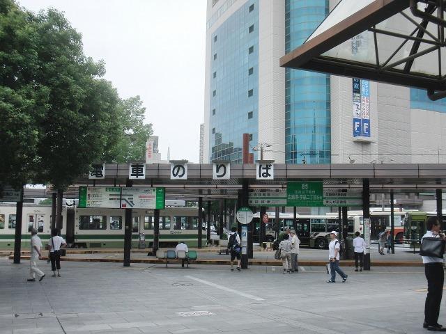 広島電鉄(広電) 広島駅