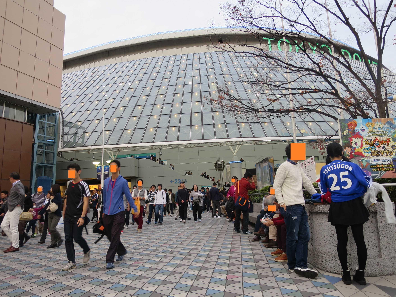 野球見納め。東京ドームを後にします