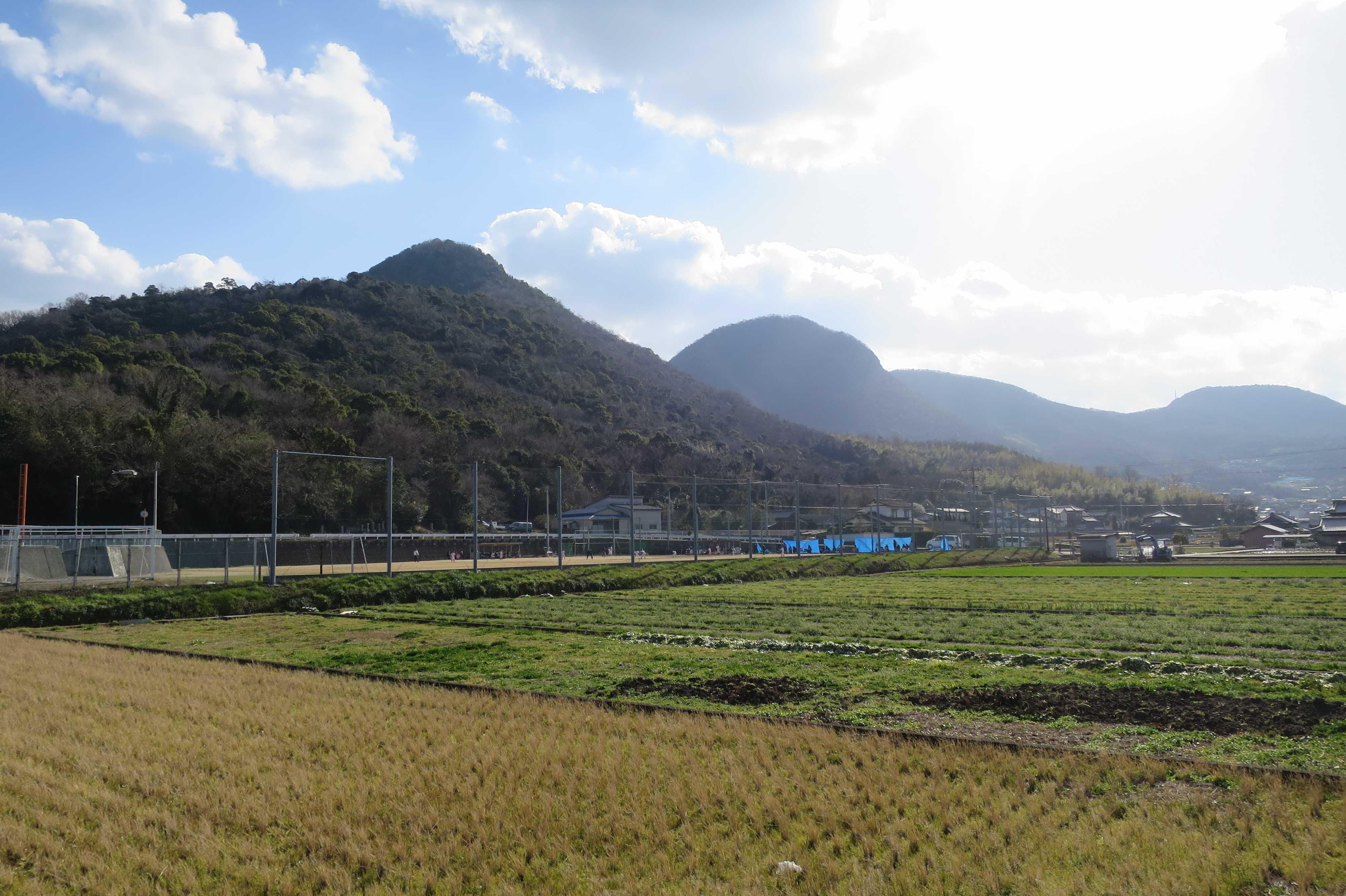 五岳山 - 香色山・筆ノ山・我拝師山・中山・火上山