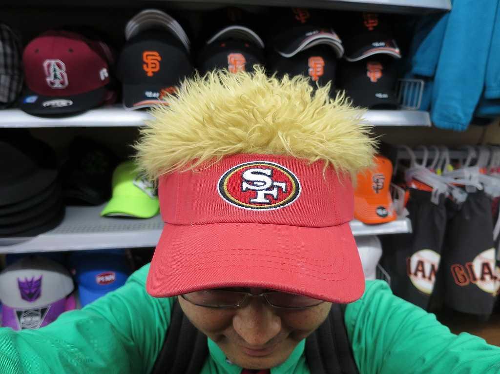 49ers(サンフランシスコ・フォーティナイナーズ)の帽子