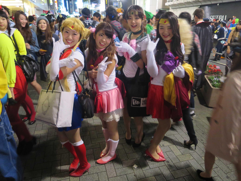 渋谷ハロウィーン - 愛と正義のセーラー服美少女戦士、セーラームーン