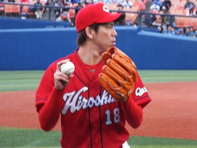 マエケン(前田健太)の胸 - Hiroshima 18