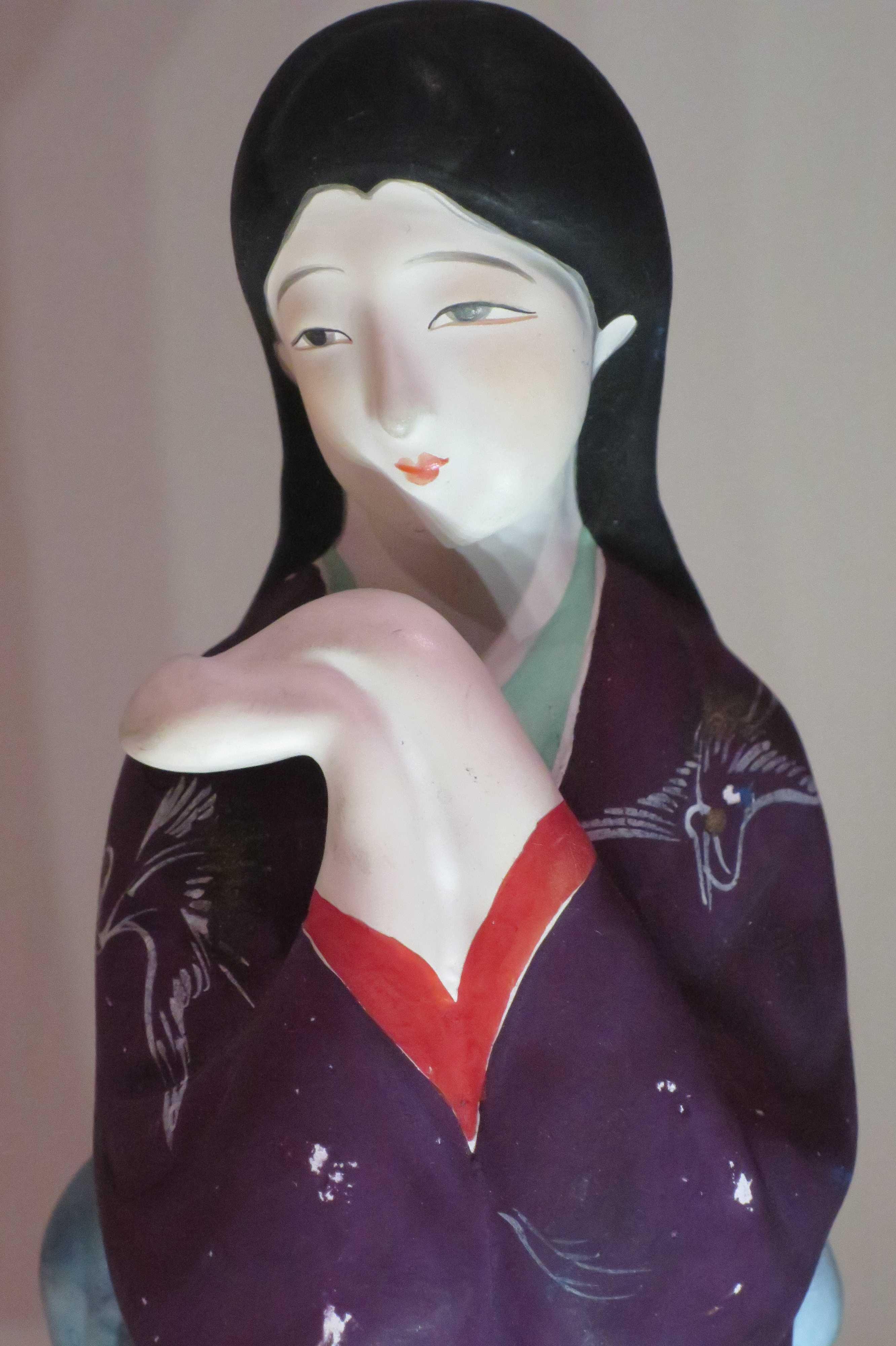 瀬戸蔵ミュージアムの「土びな」美人