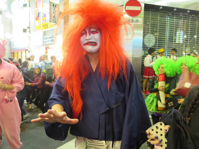 渋谷ハロウィーン - 歌舞伎役者