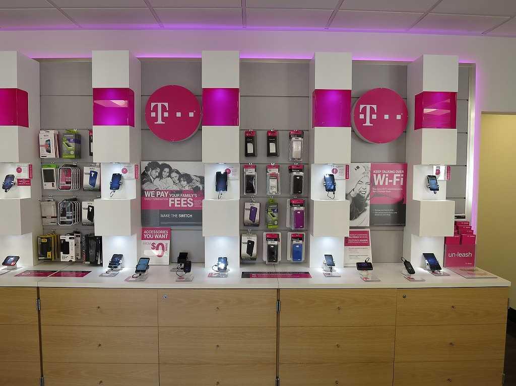 サンフランシスコ - T-Mobileの店内
