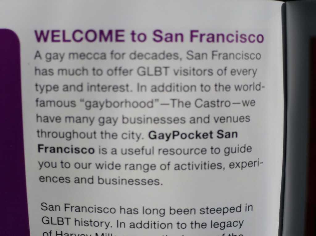 ゲイのメッカ・サンフランシスコ