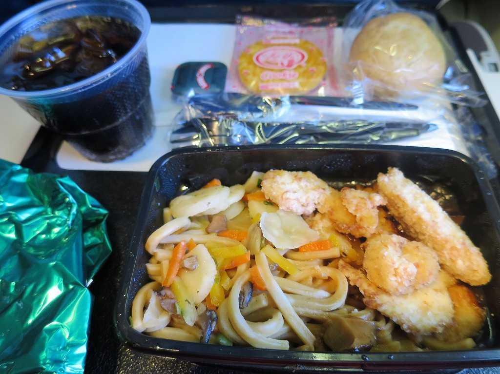 UNITED(ユナイテッド航空)の機内食