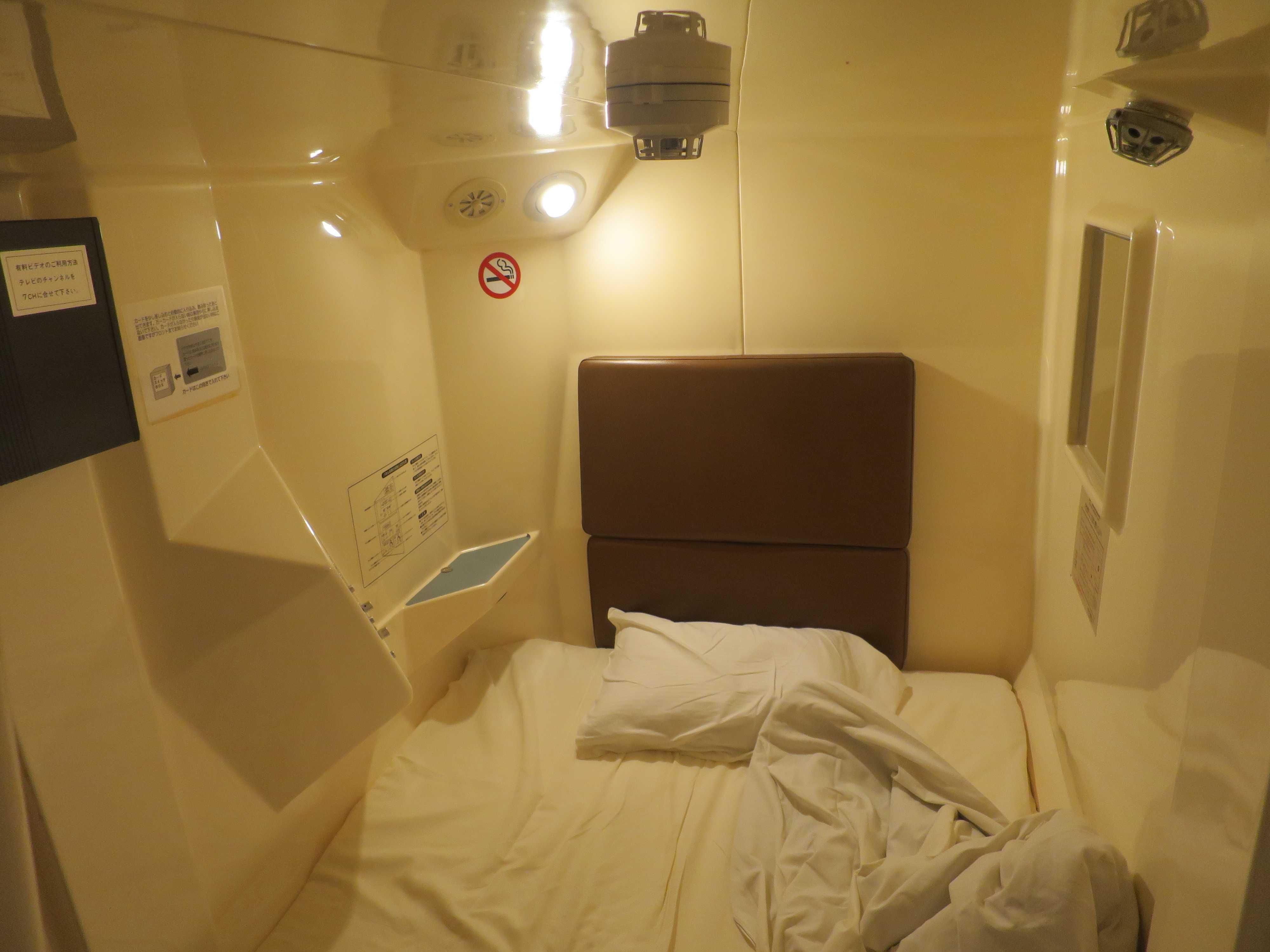 カプセルルームの内部