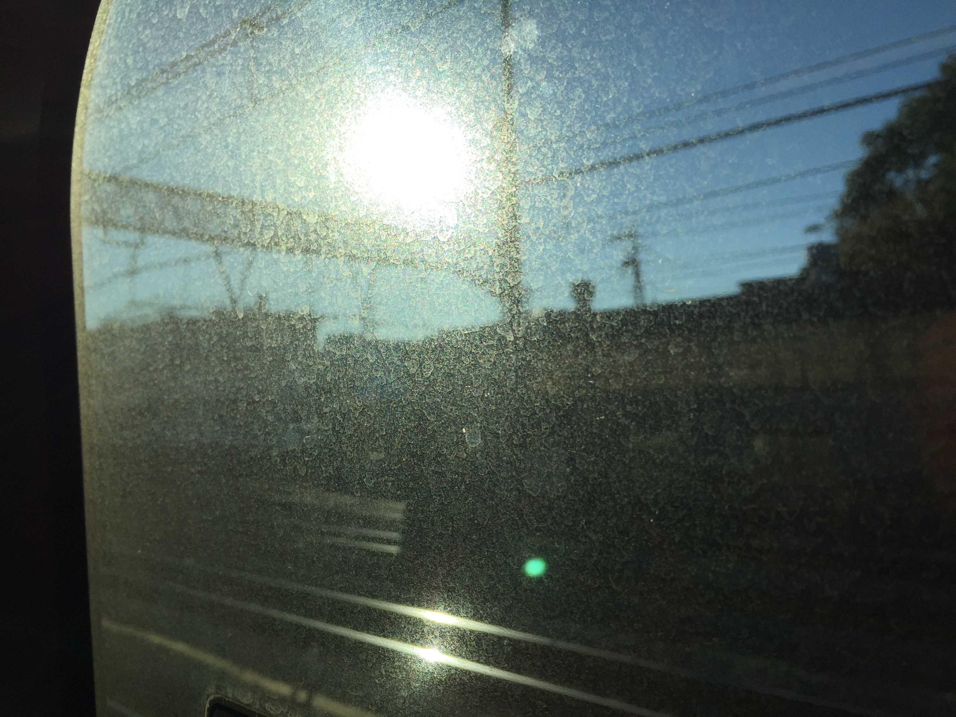 JR東海道線の車窓
