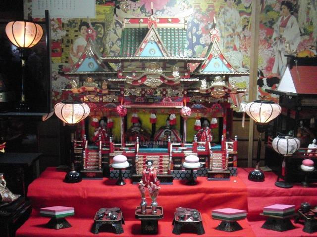 鞆の雛飾り(広島県福山市)