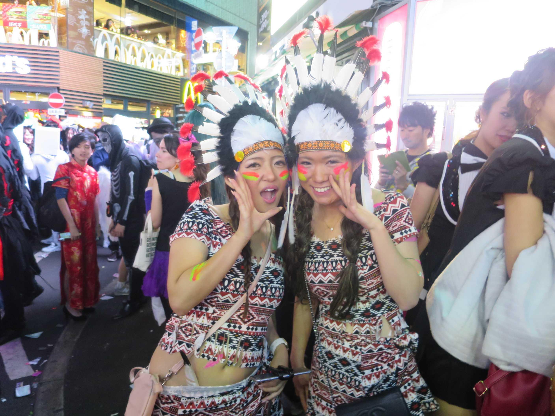 渋谷ハロウィン - インディアン