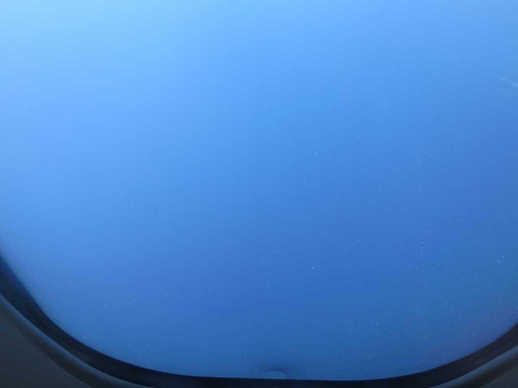 飛行機から撮影された写真