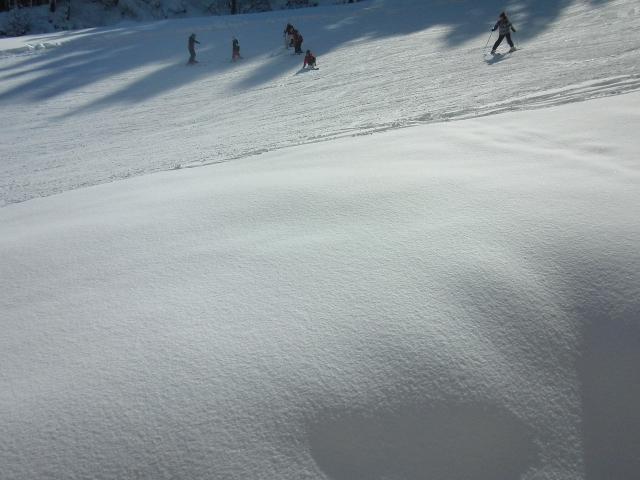 一本杉スキー場のバージンスノー