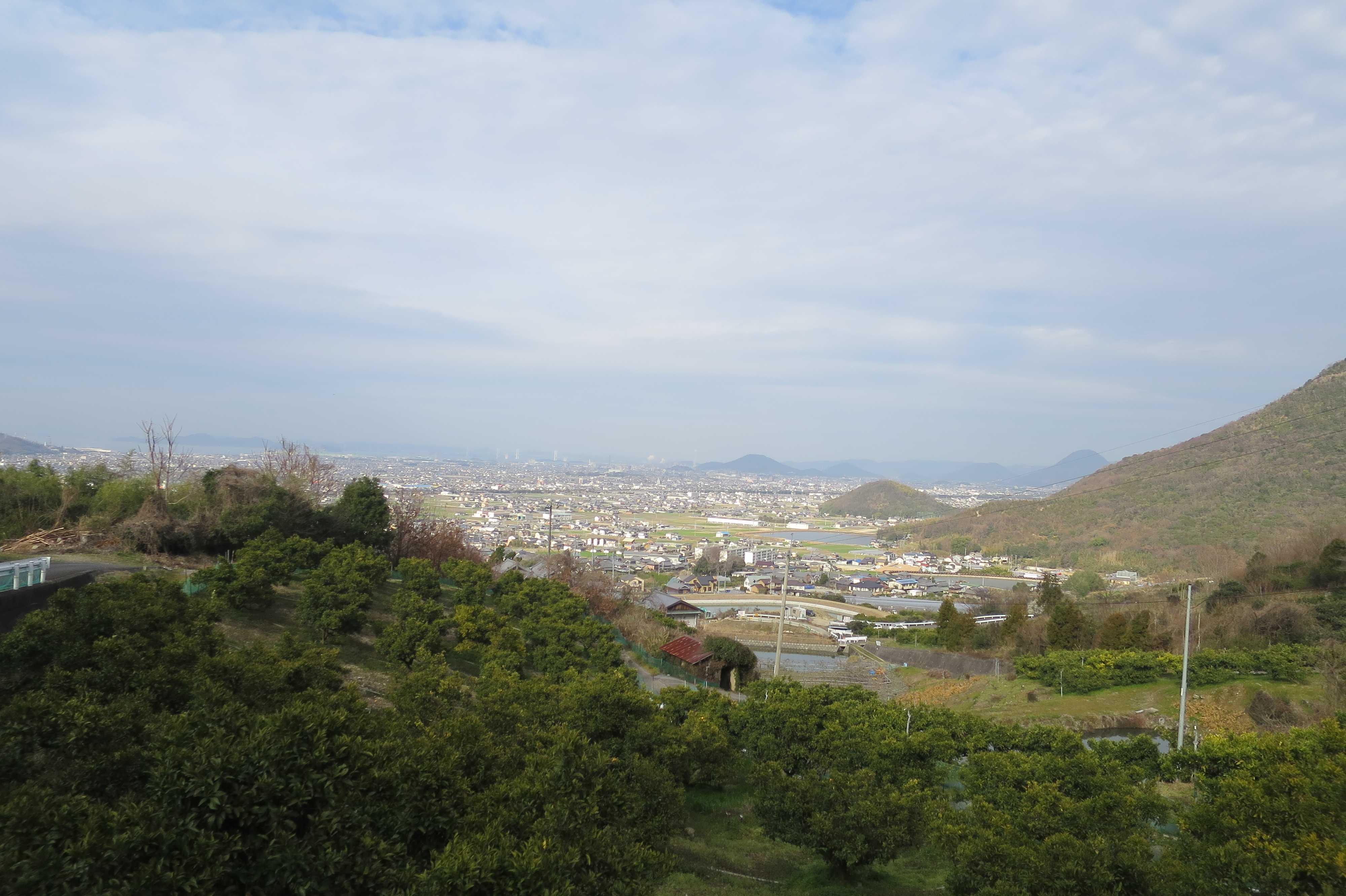 奥の院捨身ヶ嶽禅定 - 讃岐平野