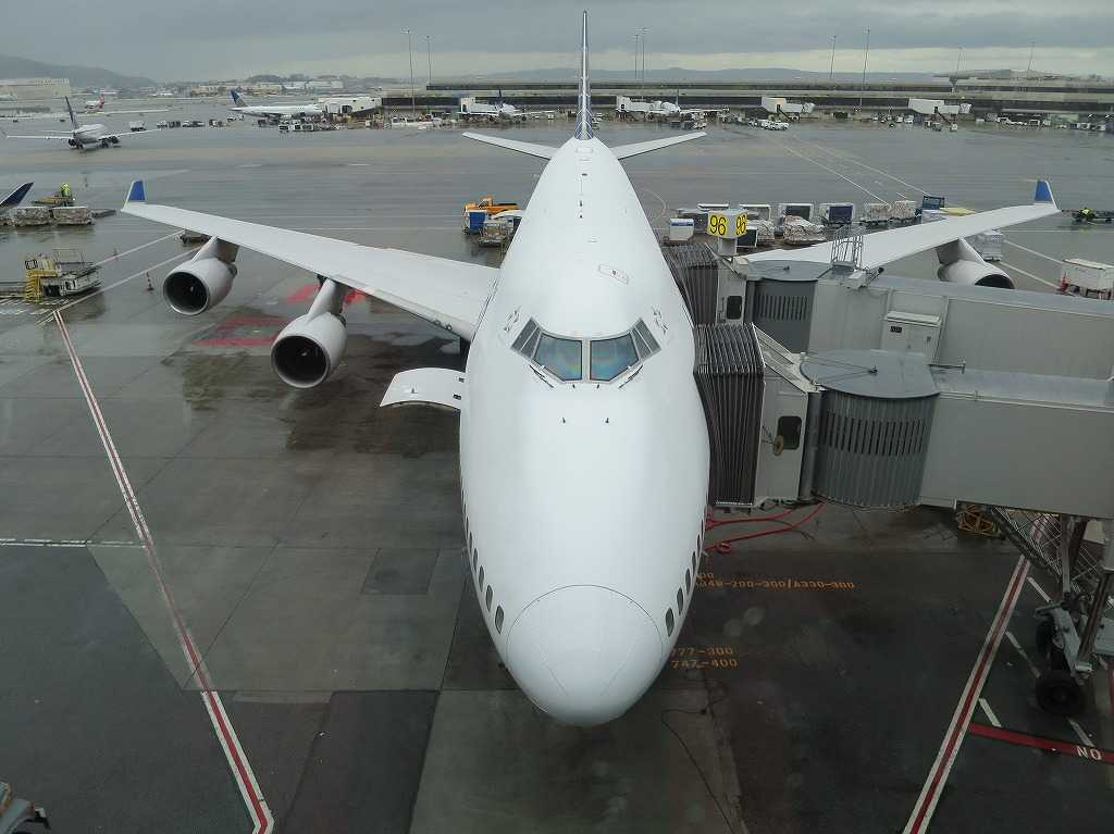 UNITED(ユナイテッド航空)サンフランシスコ - 東京(成田)