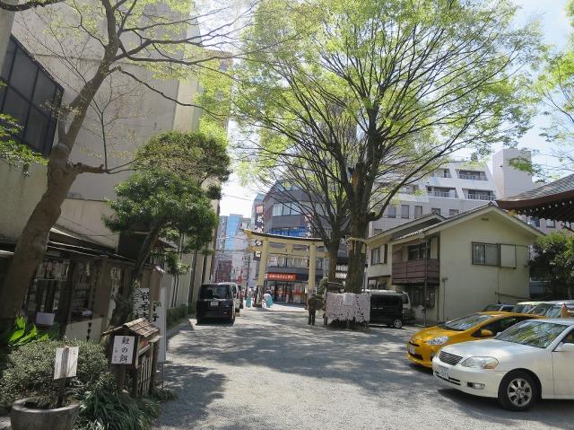 子安神社境内(東京都八王子市)