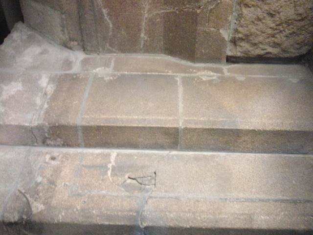 広島平和記念資料館の人影の石