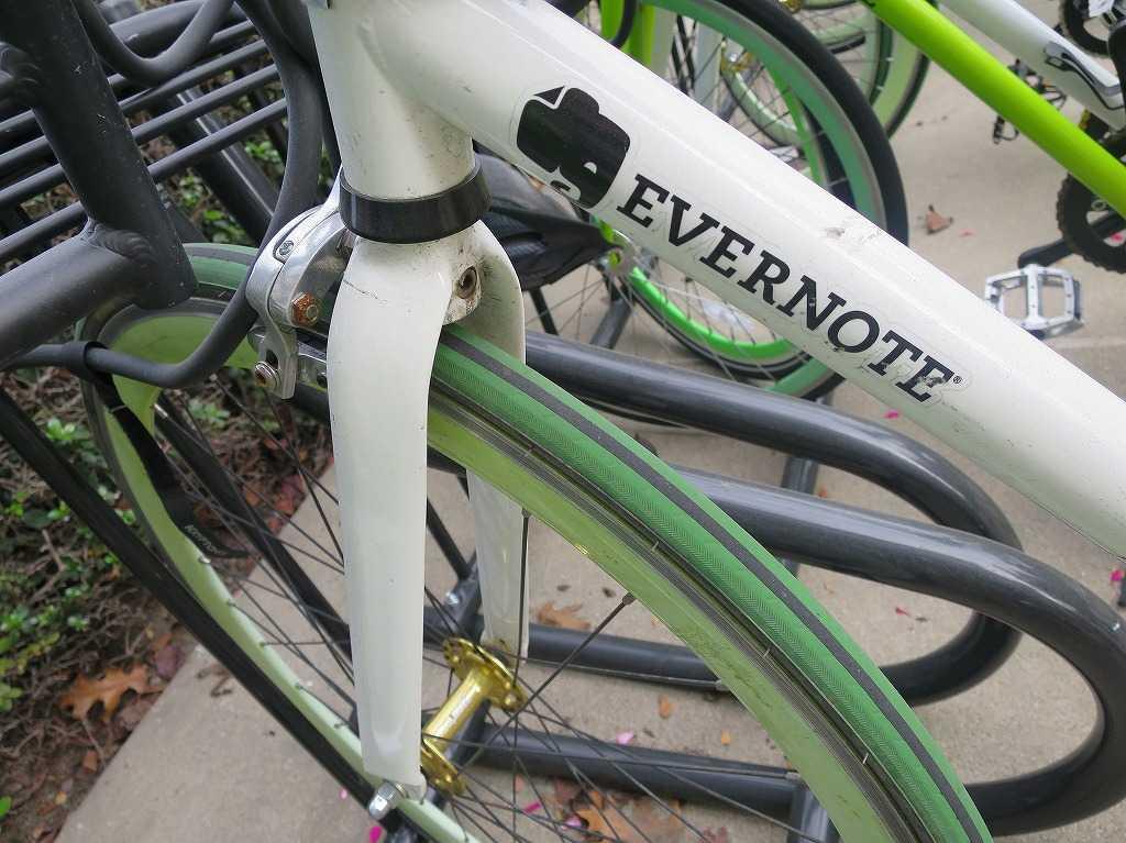 EVERNOTE(エバーノート)本社の無料自転車
