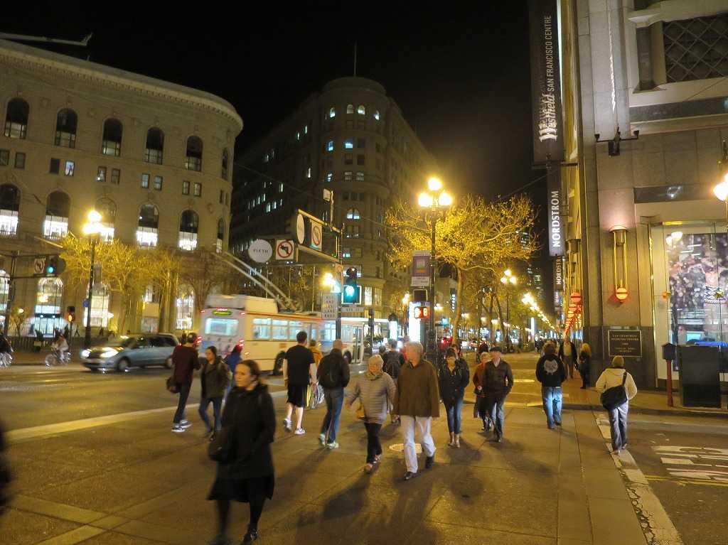 サンフランシスコ - マーケット・ストリート