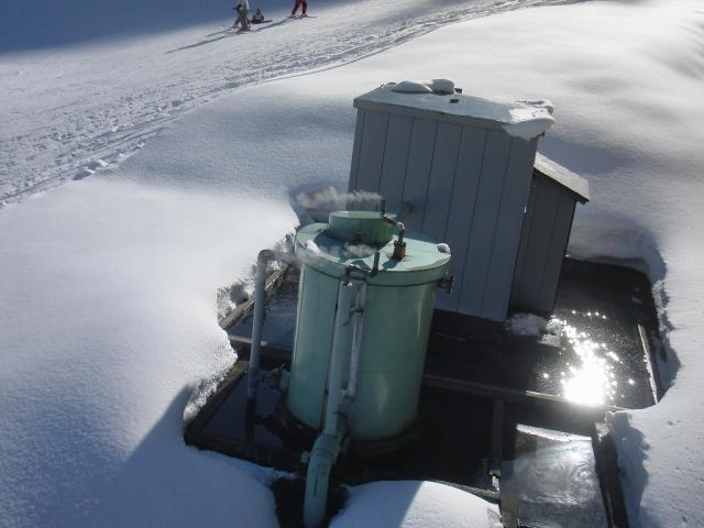 一本杉スキー場の温泉施設
