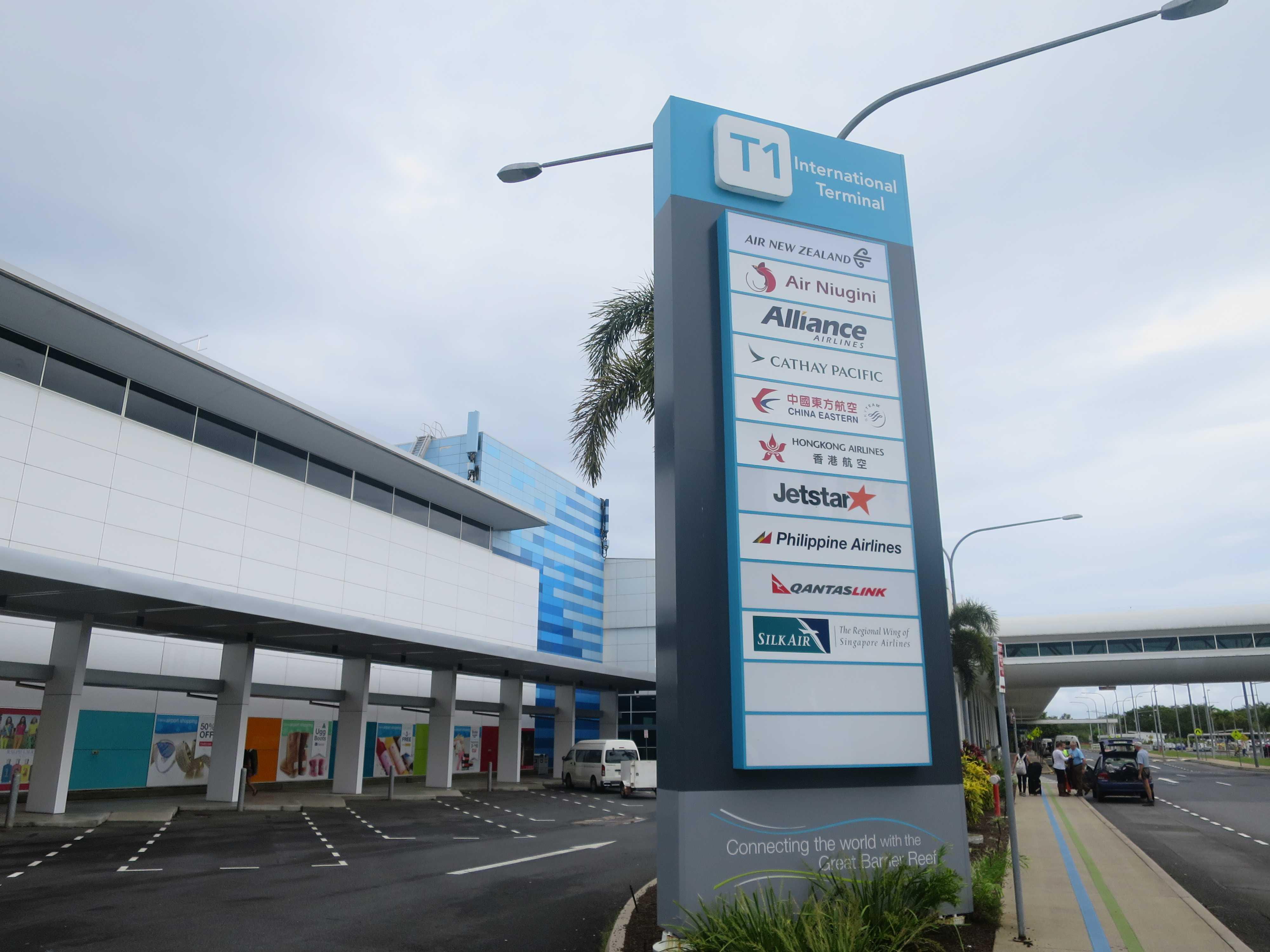 ケアンズ国際空港(インターナショナルターミナル)