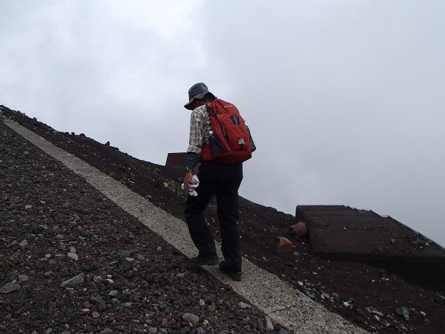 富士登山するたかちゃん