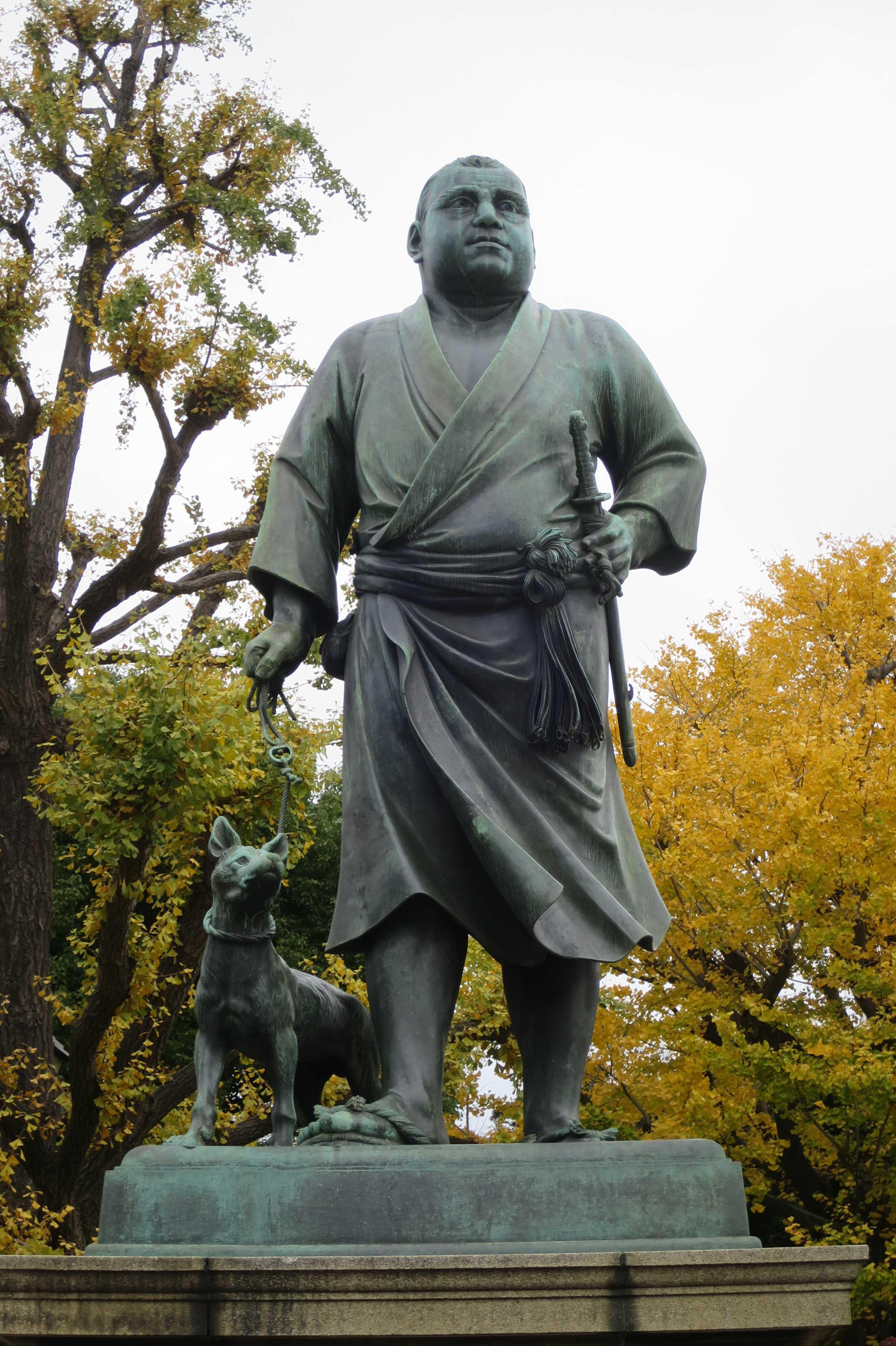 西郷さんの銅像 - 上野公園
